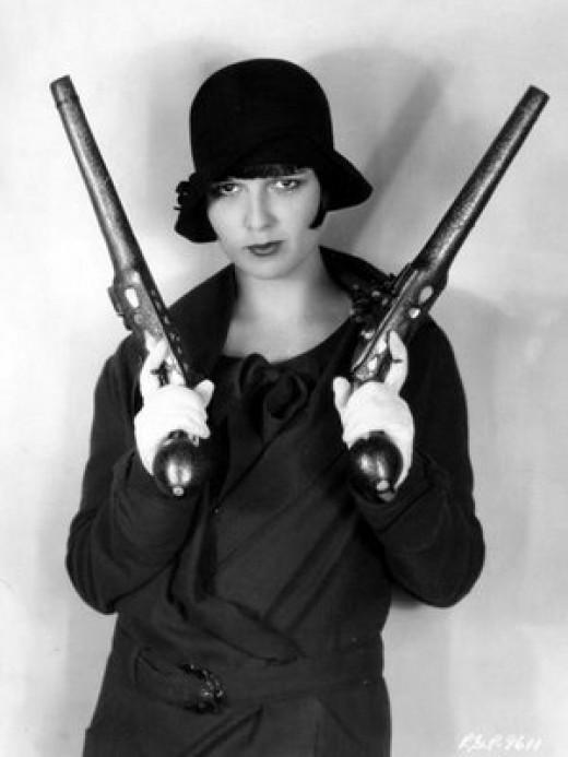Flapper Gangster Girl