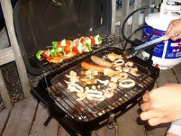 Portable Gas Grill (Photo courtesy by billss from Flickr)
