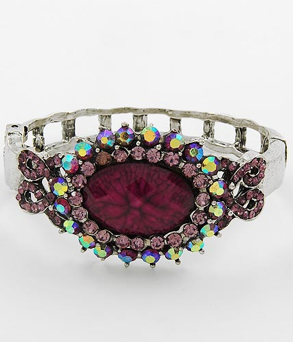 Raspberry Dazzle Bracelet