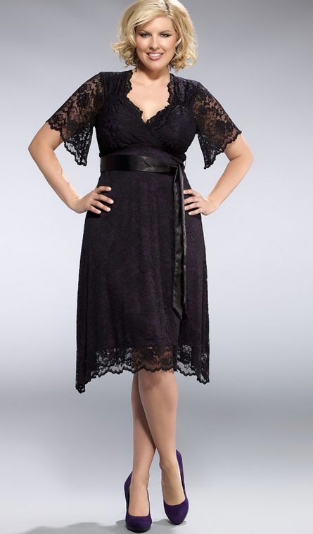 Retro Lace Glam Dress