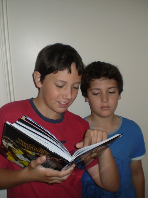 Youngsters enjoy finding answers to their questions in books of their own