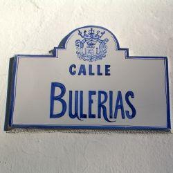 Calle Bulerías (the street of the 'bulerias', a flamenco style)