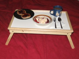 A Breakfast Tray for My Wife