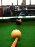How to learn pool shots: left and right English
