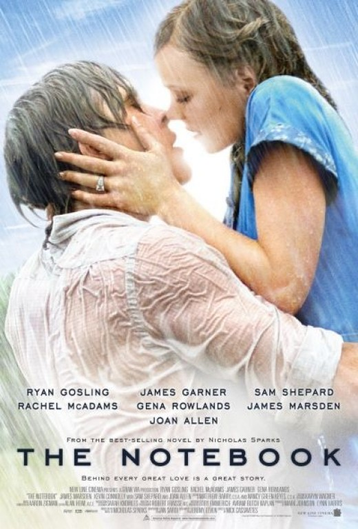 The Notebook, the Official Movie Poster (2004)