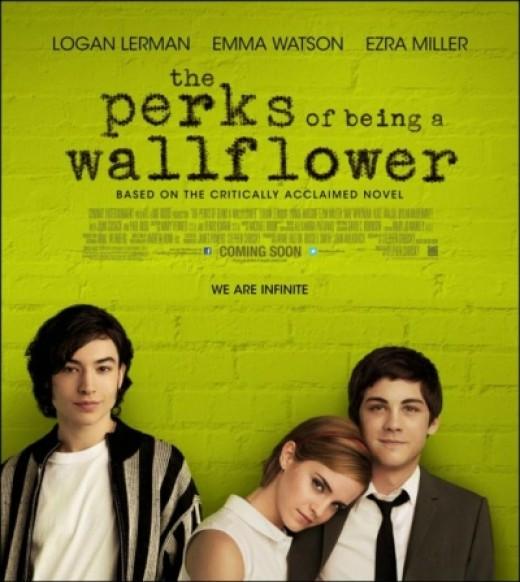 The Official Movie Poster of The Perks of Being a Wallflower