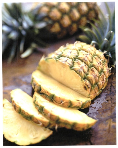 "The first written record of the word ""pineapple"" in English was in 1398 and it was used to refer to a pine cone."