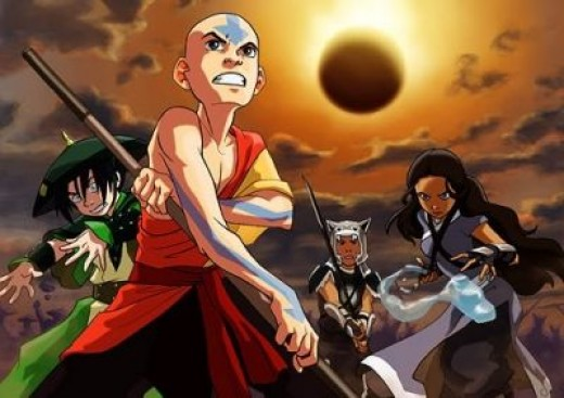 Aang and his friends