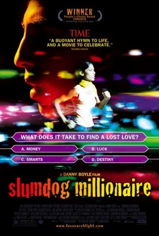 The Official Slumdog Millionaire Movie Poster