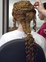 Intricate Fishtail braids