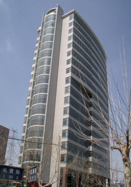 Working in China - find me at the 19th floor..