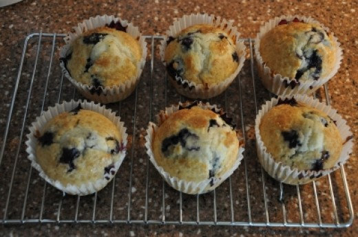 My Blueberry Muffins