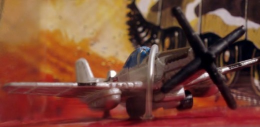 P51-D Mustang fighter. From 96' Micro Machines #19 War Classics set.