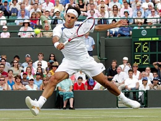 6 times Wimbledon winner Roger Rederer