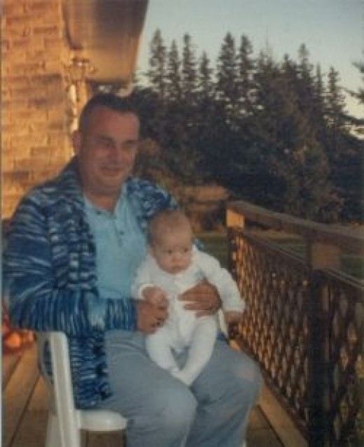 Cliff and my son - by Sandra Wilson