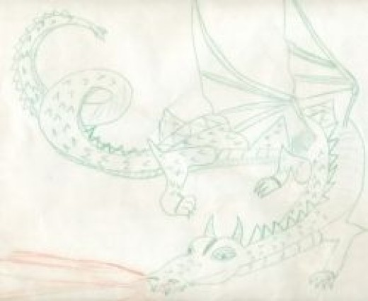 drawing by Sandra Wilson