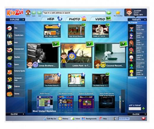 KidZui Kids Internet Browser
