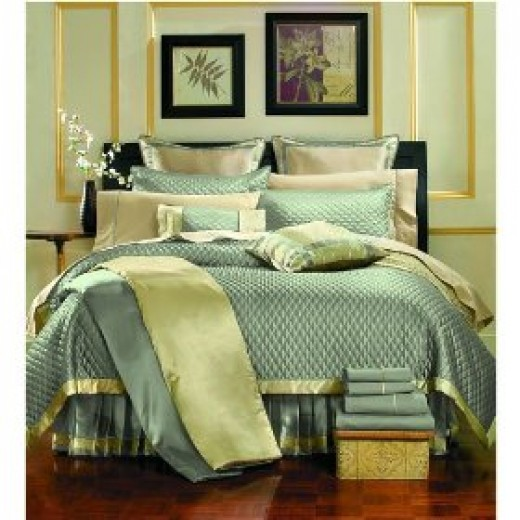 Blue Luxury bedding