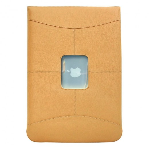 The MacCase Premium Leather Sleeve is the perfect cover for the discerning Apple user, who likes functionality combined with sleek and elegant.  The sleeve is available in a variety of cool colors, including: chocolate brown, black, tan, and red.