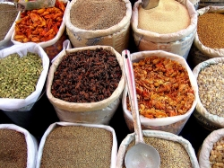 Bulk Spices can be found in Markets and the Internet
