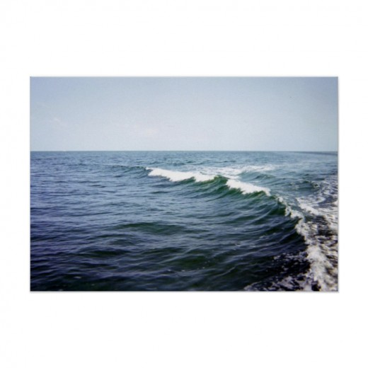 A Wave in the Atlantic Ocean
