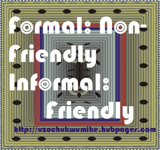 Defining formal and informal organization
