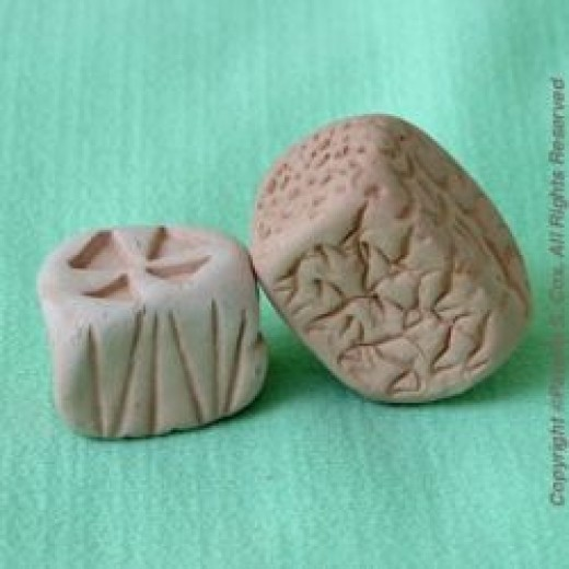 Multi-sided Clay Stamps