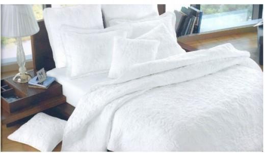 Cynthia Rowley Pure White Bedding Cynthia Rowley Bettina embroidered