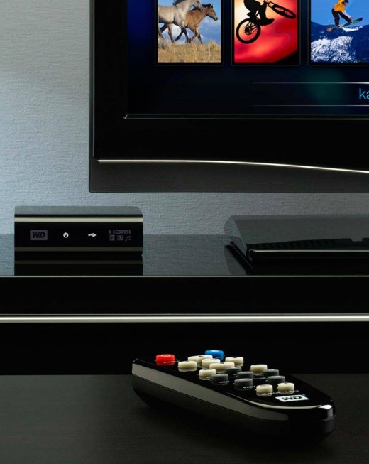 WD TV HD - Promotional Image