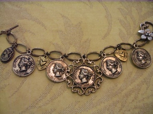 Medieval Charm Bracelet