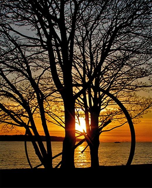 """Sunset through Art"""