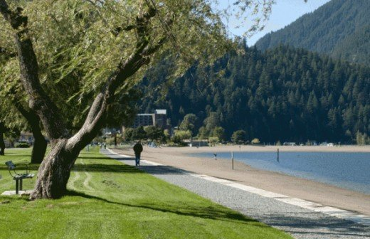Harrison Hot Springs is the best place for relaxation, take a walk by the beach or enjoy a spa at on one the several natural hot spring pools