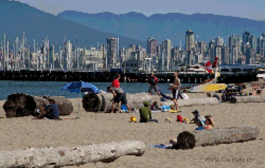 View of Jericho Beach