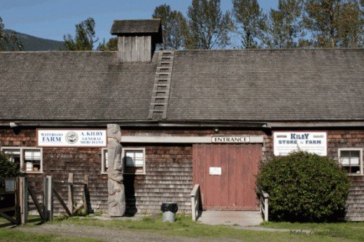 The Kilby Historic Site in Harrison Mills BC, is great place for the whole family. It features and old general store, a museum,a farm and other activities