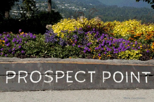 Prospect Point Stanley Park Photo Malu Couttolenc