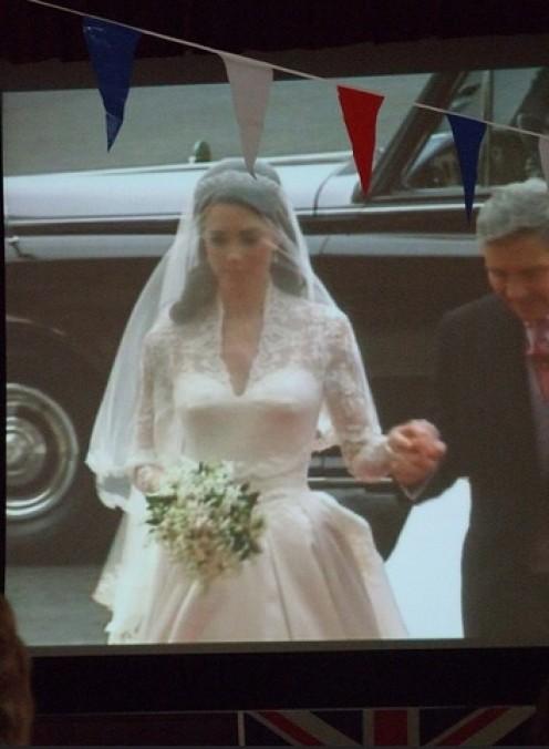 The Inspiring Princess Kate's Wedding Dress