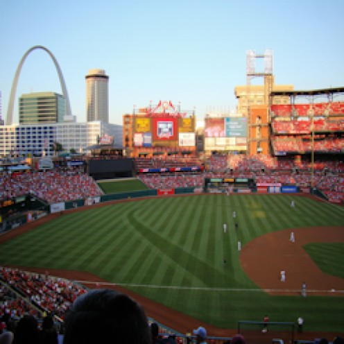 Busch Stadium Bank of America Club Review
