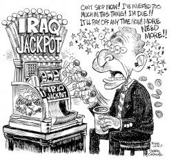 Bush's Iraq Jackpot