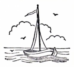 Historical Sailing Ships and Boats Coloring Pages