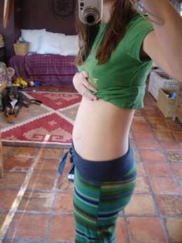 Tummy at 14 Weeks Pregnant