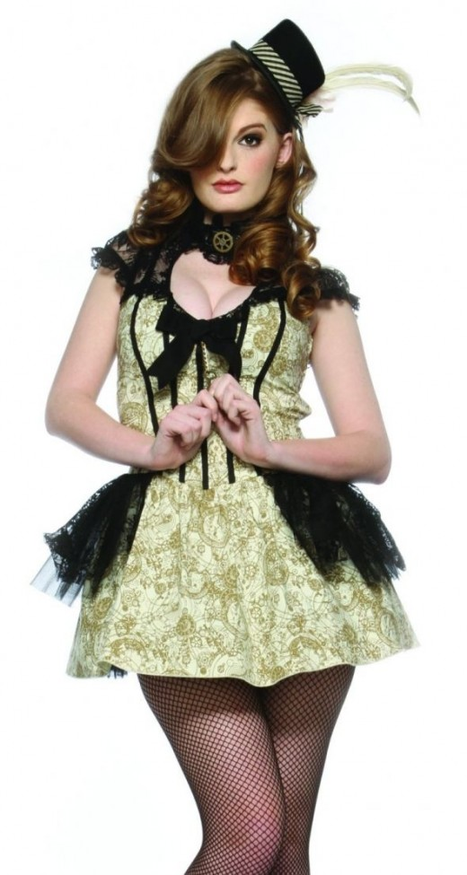 Sexy Steampunk Costume Available in XL