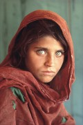 Afghan Girl With Green Eyes