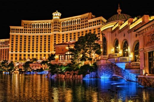The Bellagio Hotel Honeymoon Vacation Destination Spots