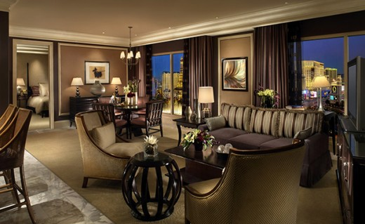 The Bellagio Hotel Room Honeymoon Vacation Destinations