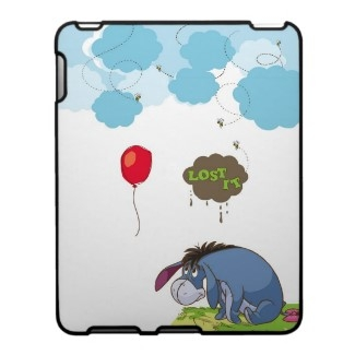 Eeyore Lost It iPad Case