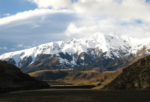 Southern Alps, Canterbury, New Zealand