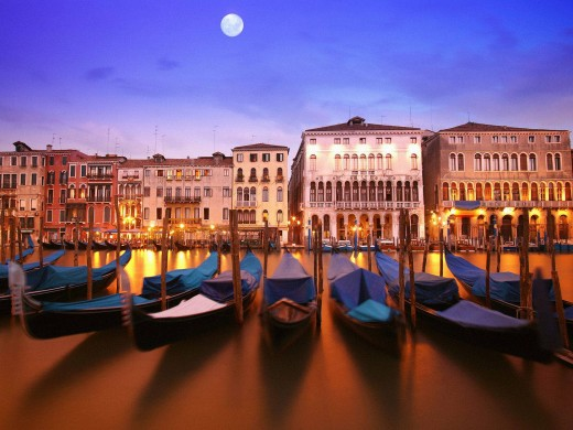 Venice Honeymoon Vacation Destinations