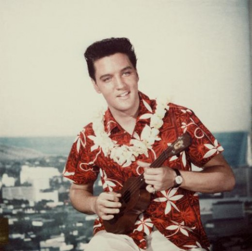 Elvis Loved The Ukulele Too!