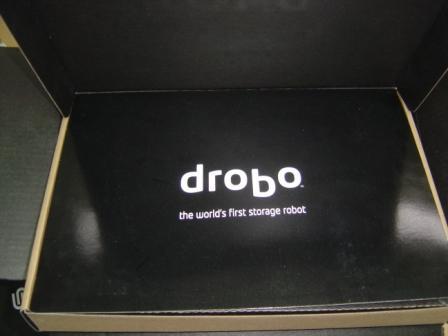 Drobo accessories box