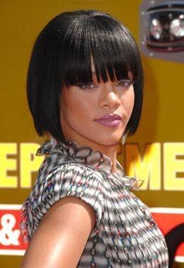 Rihanna's Short Bob